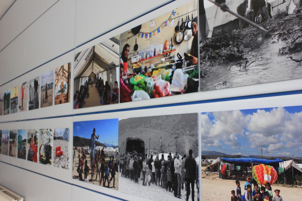 Imagen de una de las exposiciones pertenecientes al programa Protege